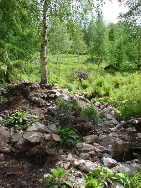 Intensywnie eksploatowane stanowisko z ametystami w rejonie Karpacza, fot. Roksana Knapik