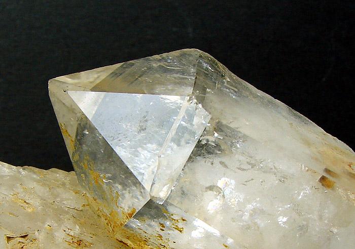Kryształ górski z Izerskich Garbów