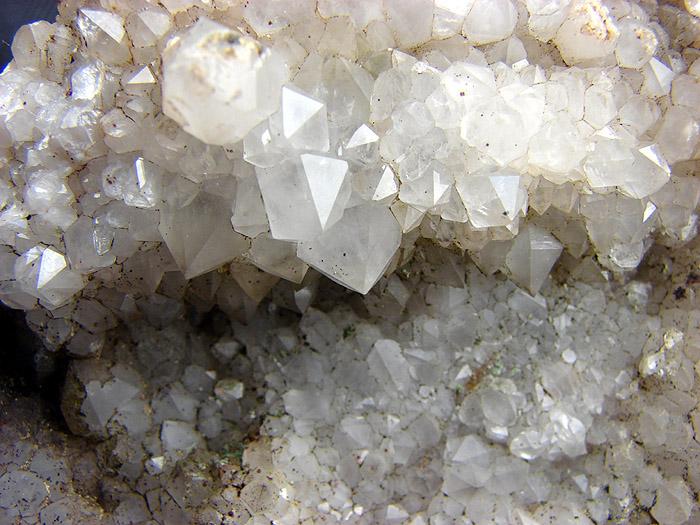 Szczotka kryształów górskich ze Szklarskiej Poręby