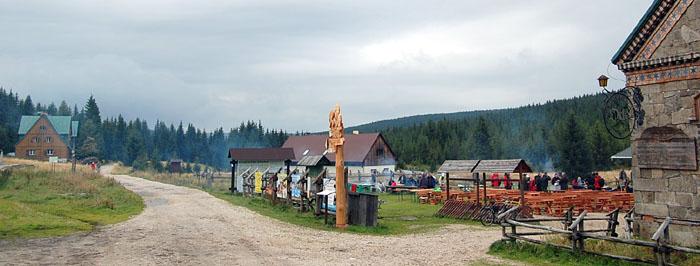 Panorama w kierunku na Świeradów