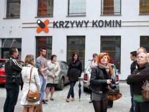 """""""Krzywy Komin"""" - stara farbiarnia przerobiona na miejsce warsztatów i szkoleń dla """"zagubionych w nowej rzeczywistości"""""""