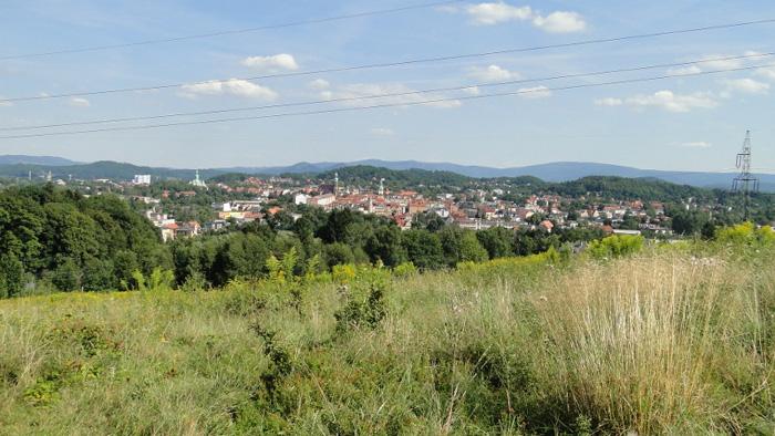 Widok na Jelenią Górę ze Złotego Widoku na Gapach. Foto: Krzysztof Tęcza