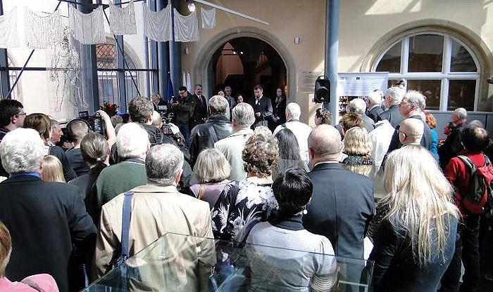 Powitanie przybyłych na jubileusz. Foto: Krzysztof Tęcza