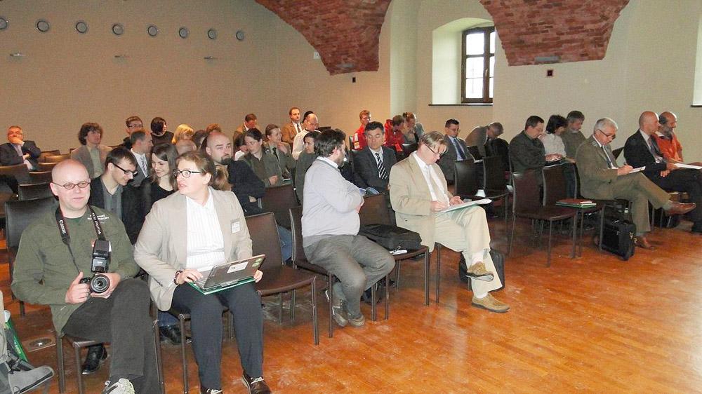 Sala konferencyjna pałacu w Wojanowie. Foto: Krzysztof Tęcza