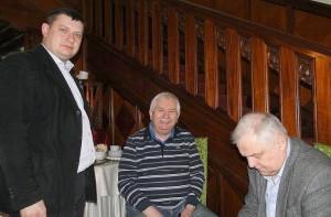 Od lewej: Piotr Machlański, Zbigniew Lewandowski i Andrzej Danowski. Foto: Krzysztof Tęcza