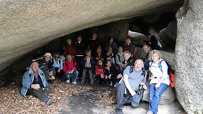 W jaskini na Witoszy. Foto: Krzysztof Tęcza