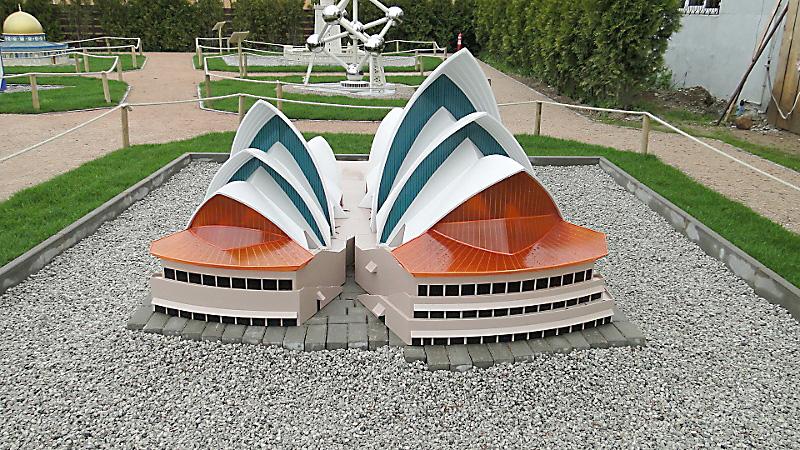 Model Sydney Opera House. Foto: Krzysztof Tęcza
