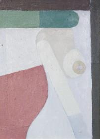 Kompozycja, 2009, olej, płyta, 25×20 cm