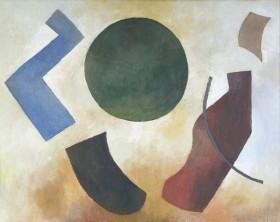 Przestrzeń, olej, płótno, 2008, 40×51 cm