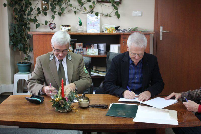 Podpisanie porozumienia o współpracy pomiędzy WIOŚ we Wrocławiu a KPN