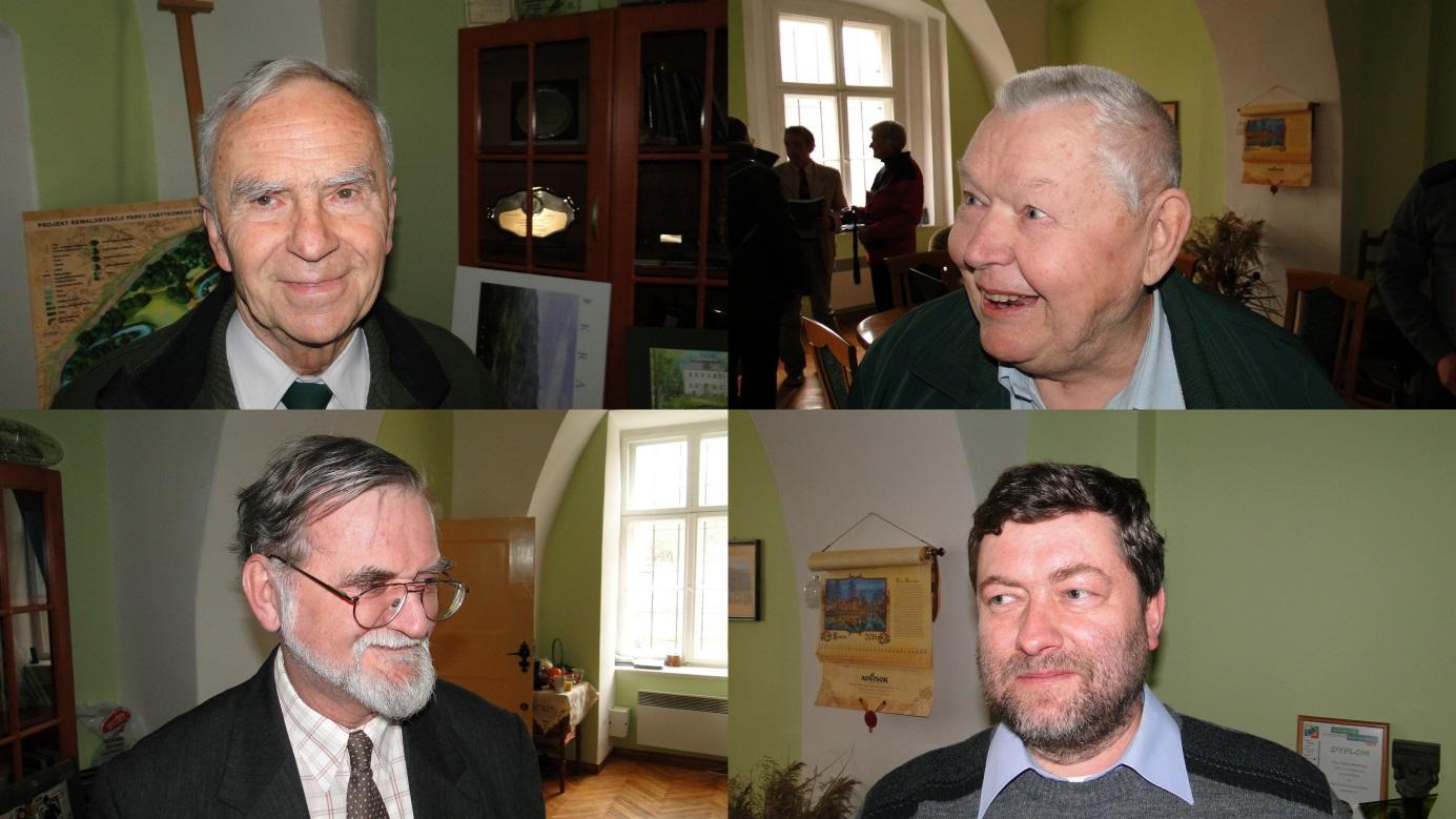 Janusz Czerwiński, František Jirásko, Krzysztof R. Mazurski i Jacek Potocki. Foto: Krzysztof Tęcza