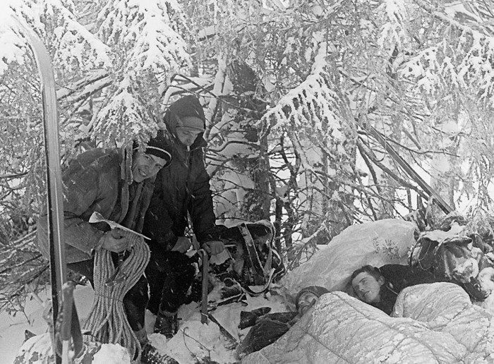 """Niefortunni """"poszukiwacze zaginionej chatki"""" (24-III-1967)"""