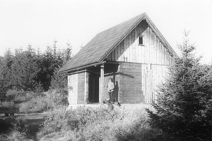 Chatka AKT na Bażynowych Skałach (VII-1961)