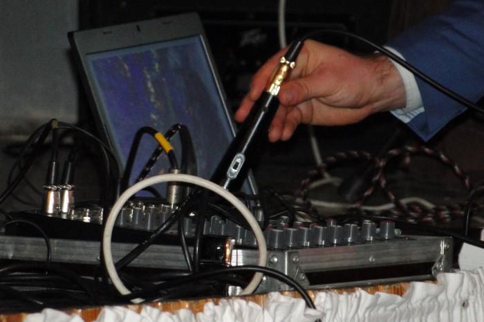Jak widać czasami technika wymaga pomocy. Foto: Krzysztof Tęcza
