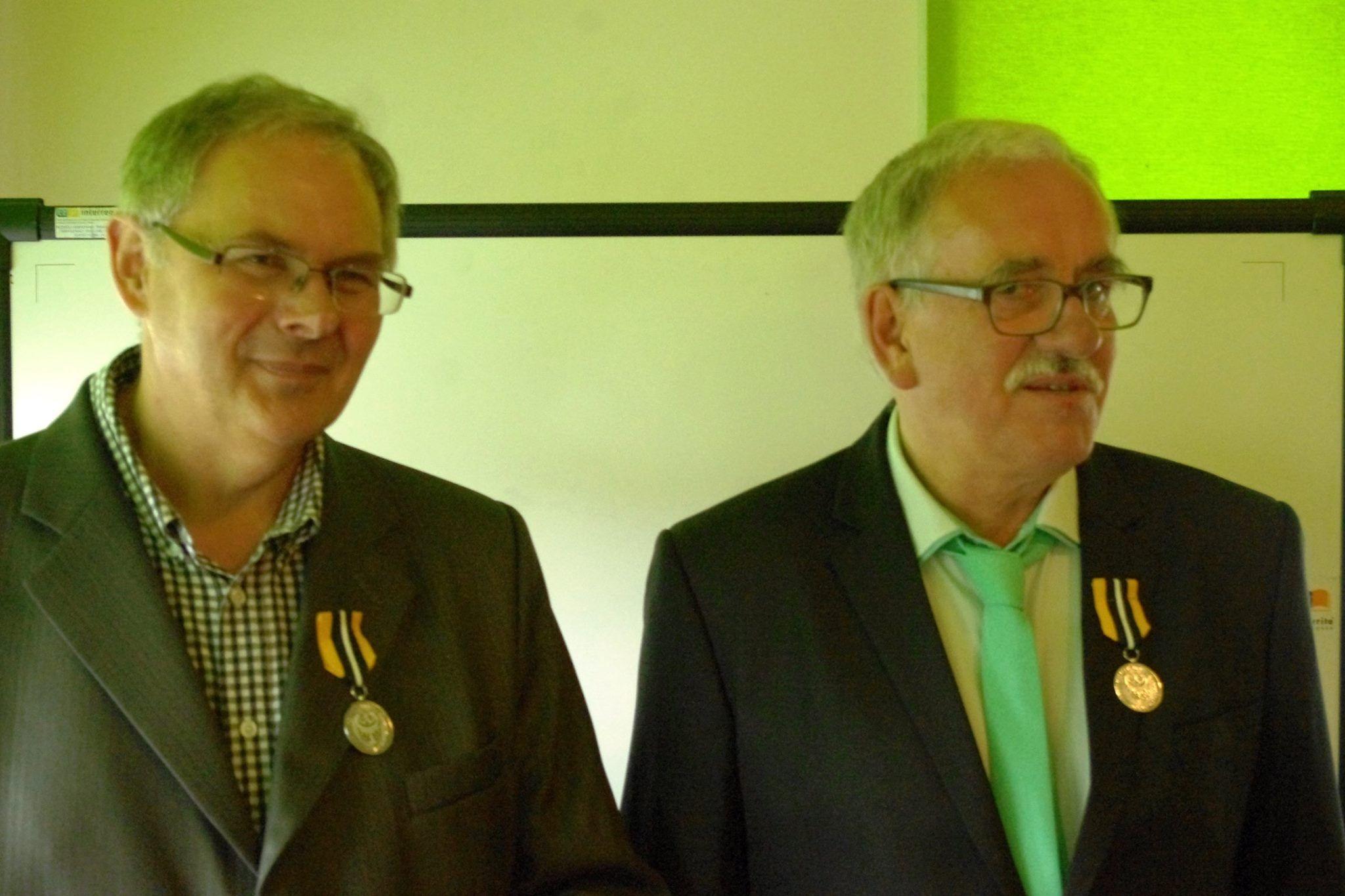 Krzysztof Tęcza i Wiktor Gumprecht, Fot. Andrzej Mateusiak