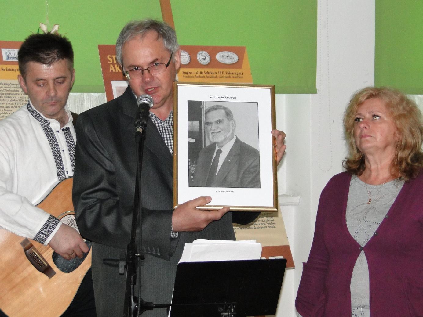 Pożegnanie Krzysztofa Mazurskiego. Foto: Anna Tęcza