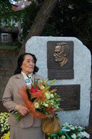 Maria Bor – rzeźbiarka, autorka odsłoniętego 23.09. pomnika Gerharta Hauptmanna