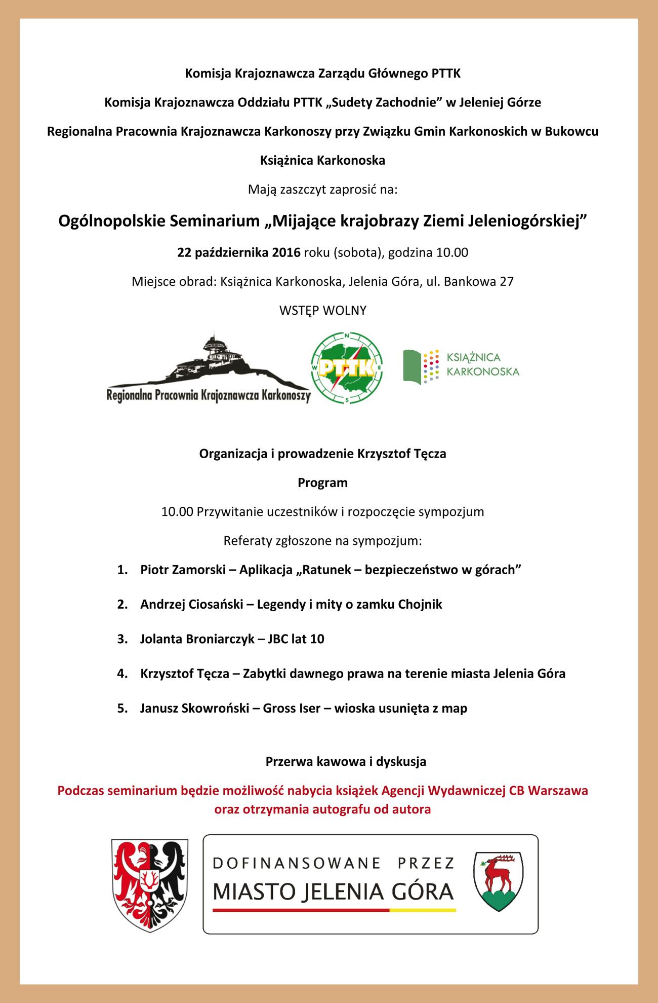 Microsoft Word - Ogólnopolskie Seminarium Mijajace krajobrazy Zi